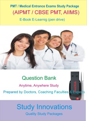 Study Innovations PMT/AIPMT/AIIMS/Medical Entrance Exams Question Bank