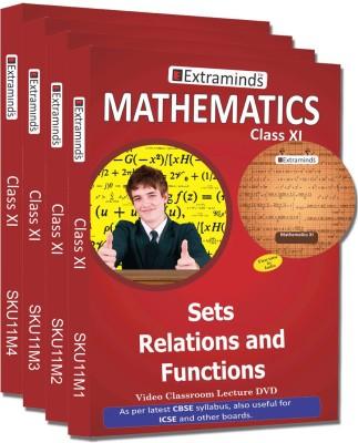Extraminds Class XI - Combo – Maths- Lecture DVD