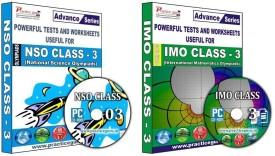 Practice Guru Class 3 - Combo Pack (IMO / NSO)
