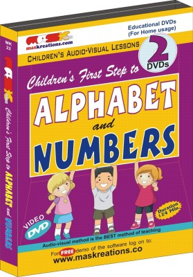 MAS Kreations First Step to Alphabet and Numbers