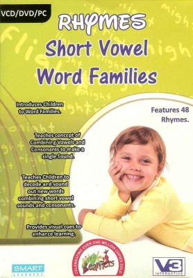 Smart Learning Rhymes Short Vowel Word Families