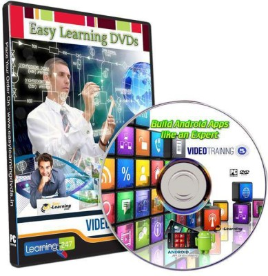 Easy Learning Build Android Apps Like an Expert Video Training DVD