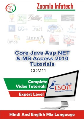 LSOIT Core Java Programming+Asp.NET Programming Language + MS Access 2010 Video Tutorials in hindi , Total 453 Lectures and Total Duration 52 Hours
