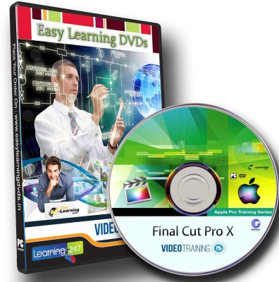Easy Learning Apple Pro Video Series Final Cut Pro X Ripple Training Video Tutorial DVD
