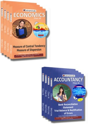 Extraminds Class XI – Combo – Accountancy-Economy- Lecture DVD