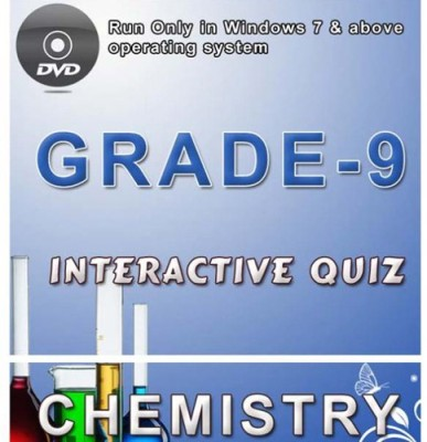 iBooks Class 9 Chemistry Interactive Quiz DVD