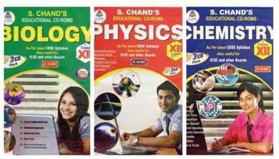 S.Chand PHYSICS/CHEMISTRY/BIOLOGY- COMBO PACK CD FOR 12TH CLASS
