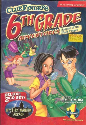 The Learning Company Cluefinders 6th Grade Adventures Empire Of The Plant People
