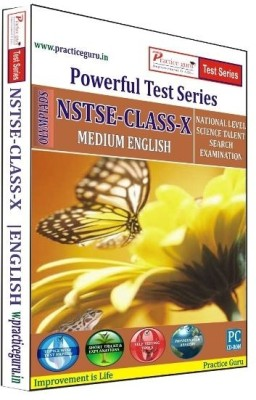 Practice Guru Powerful Test Series NSTSE Medium English (Class - 10)