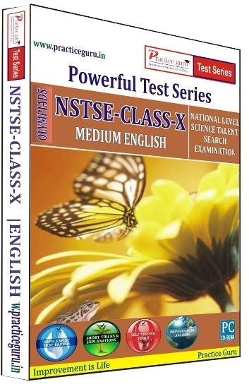 Practice Guru Powerful Test Series NSTSE Medium English (Class - 10)