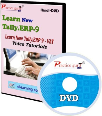 Practice Guru New Tally.Erp 9 VAT Video Tutorial(CD)