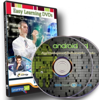 Easy Learning Android App Development Fundamentals Video Training on 2 DVDs
