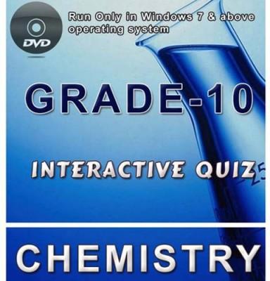 iBooks Class 10 Chemistry Interactive Quiz DVD