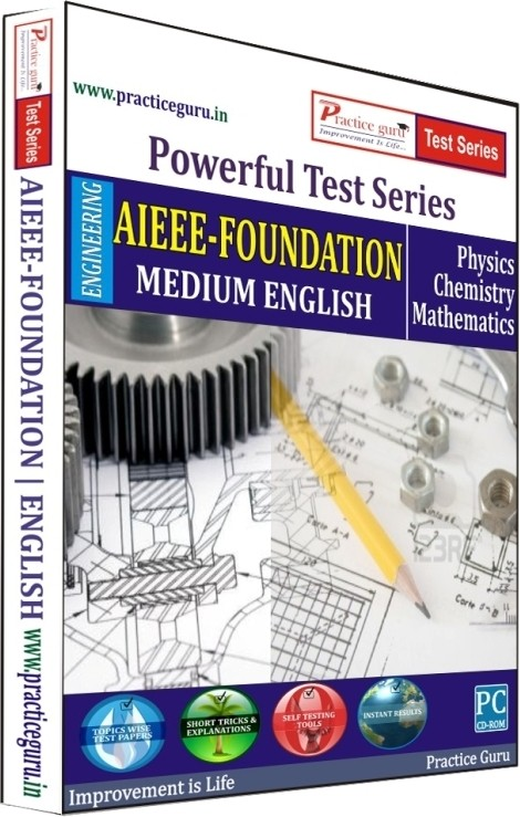 Practice Guru Powerful Test Series AIEEE - Foundation Medium English