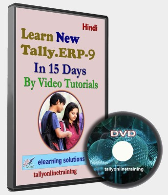 elearning solutions Tally Erp 9 In 15 days in Hindi