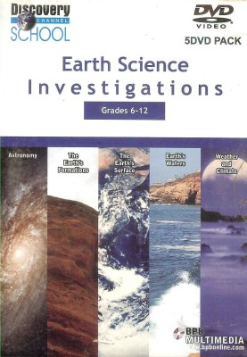 S. Chand Discovery Channel School - Earth Science Investigations Grades 6-12 (DVD Video)