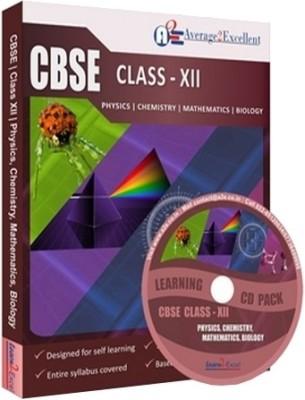 Average2excellent Class 12 Super Combo Pack (Physics, Chemistry, Mathematics and Biology)