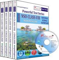 Practice Guru Powerful Test Series (NSO / IMO / IEO / NCO) Medium English (Class - 8) (Combo Pack)