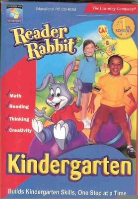 The Learning Company Reader Rabbit Kindergarten