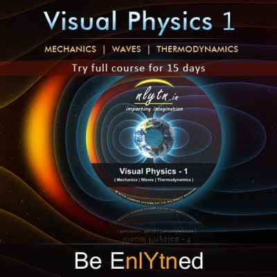 Nlytn Visual Physics 1 - Best Video Lecture Course for IIT JEE (DVD)- Covers complete JEE syllabus of Std XI - (15 Days full course trial)