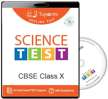 Tupoints Cbse Class 10 Science Offline Test(DVD)