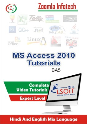 LSOIT Learn MS Access 2010 Video Tutorials in Hindi, Total 96 Lectures and Total Duration 8 Hours