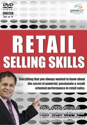 Smmart Retail Selling Skills (Set Of 4) English