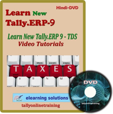 Elearning Solutions New Tally.Erp 9 TDS Video Tutorial in Hindi