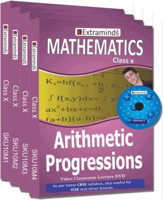 Extraminds Class X - Combo Maths - Lecture DVD