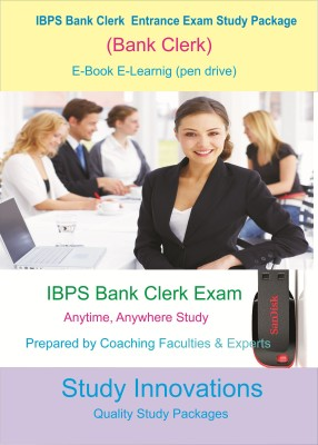 Study Innovations IBPS Bank Clerk Exam Study Package