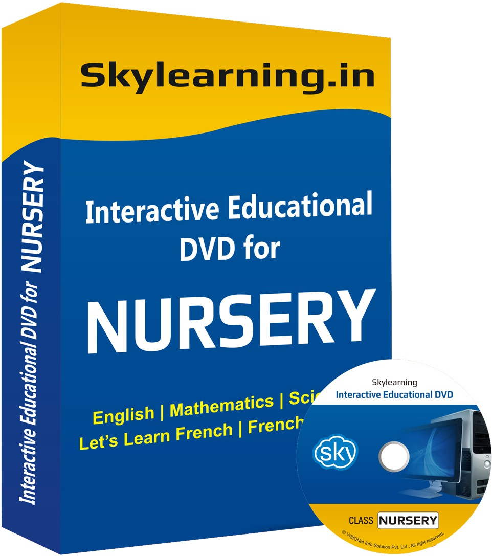 Skylearning.In All in One Combo For Class Nursery(CD)