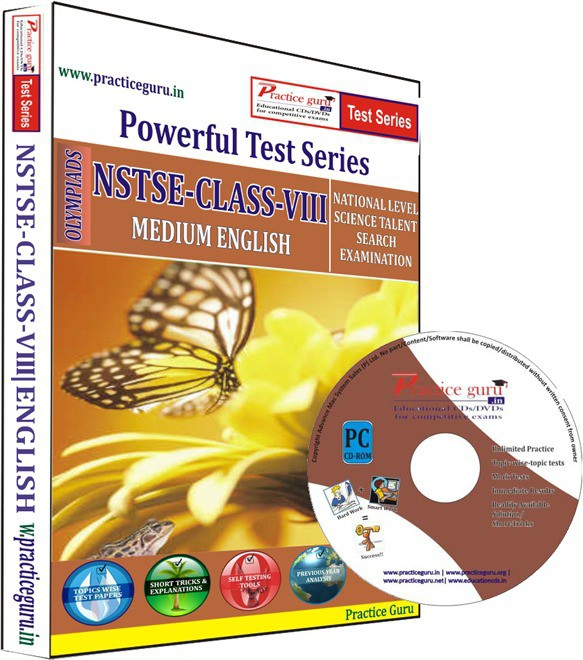 Practice Guru NSTSE Class 8 Test Series(CD)