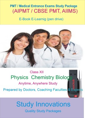 Study Innovations PMT/AIPMT/AIIMS/Medical Entrance Exams Class XII Study Material
