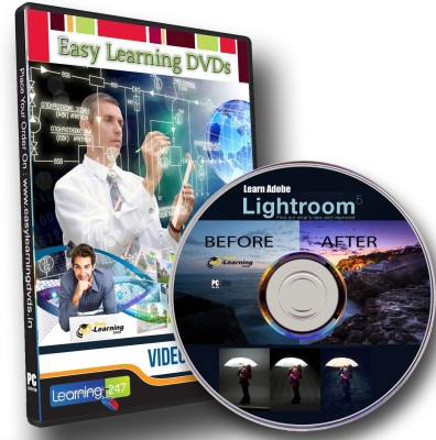 Easy Learning Adobe Lightroom 5 Video Tutorial Training Course DVD
