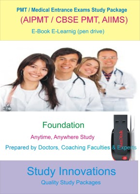 Study Innovations PMT/AIPMT/AIIMS/Medical Entrance Exams Foundation Study Material