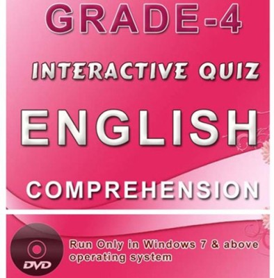 iBooks Class 4 English Comprehension Interactive Quiz DVD