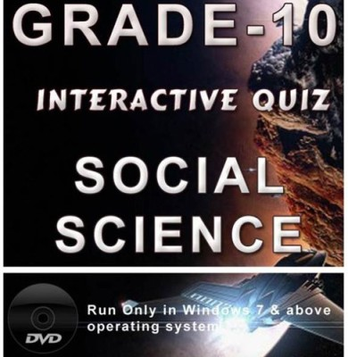 iBooks Class 10 Social Science Interactive Quiz DVD