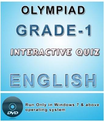 iBooks Class 1 English Olympiad Interactive Quiz DVD