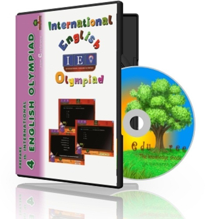 Edutree 4th English Olympiad ( Interactive Tests) Exam e Series(1 Interactive CD Pack - Prepared by Expert Team of teachers.)