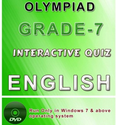 iBooks Class 7 English Olympiad Interactive Quiz DVD