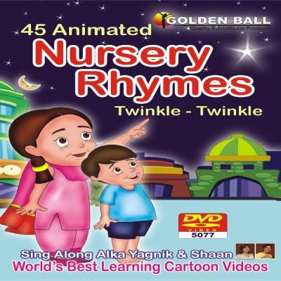 Golden Ball 45 Animated Nursery Rhymes Twinkle Twinkle