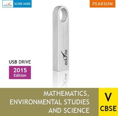 Edurite Class 5 Combo (Mathematics, EVS & Science) USB