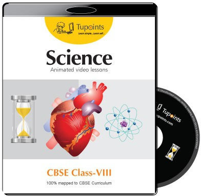 Tupoints CBSE VIII Science Animated video lessons(DVD)