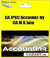 Cakart CA IPCC Accountancy by CA M K Jain