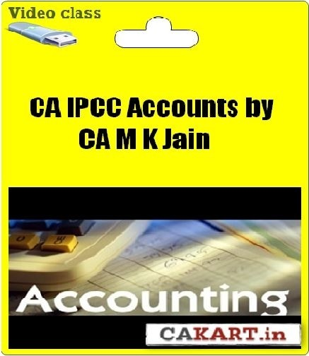 Cakart CA IPCC Accountancy by CA M K Jain
