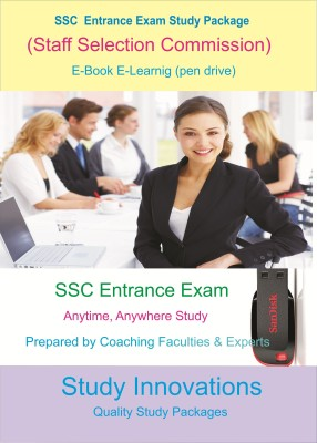 Study Innovations SSC-CHSL [Staff Selection Commission-Combined Higher Secondary Level (10+2)] Exam Study Package
