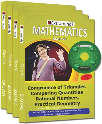 Extraminds Class VII - Combo Maths - Lecture DVD
