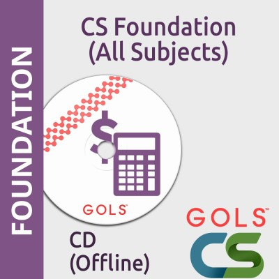 GOLSOnlineCoaching CS Foundation All Subjects Offline