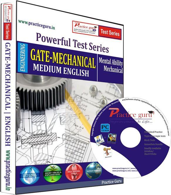 Practice Guru GATE - Mechanical Test Series(CD)