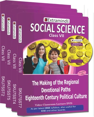 Extraminds Class VII - Combo Social Science - Lecture DVD